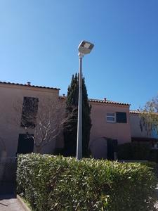 installation électrique lampadaire